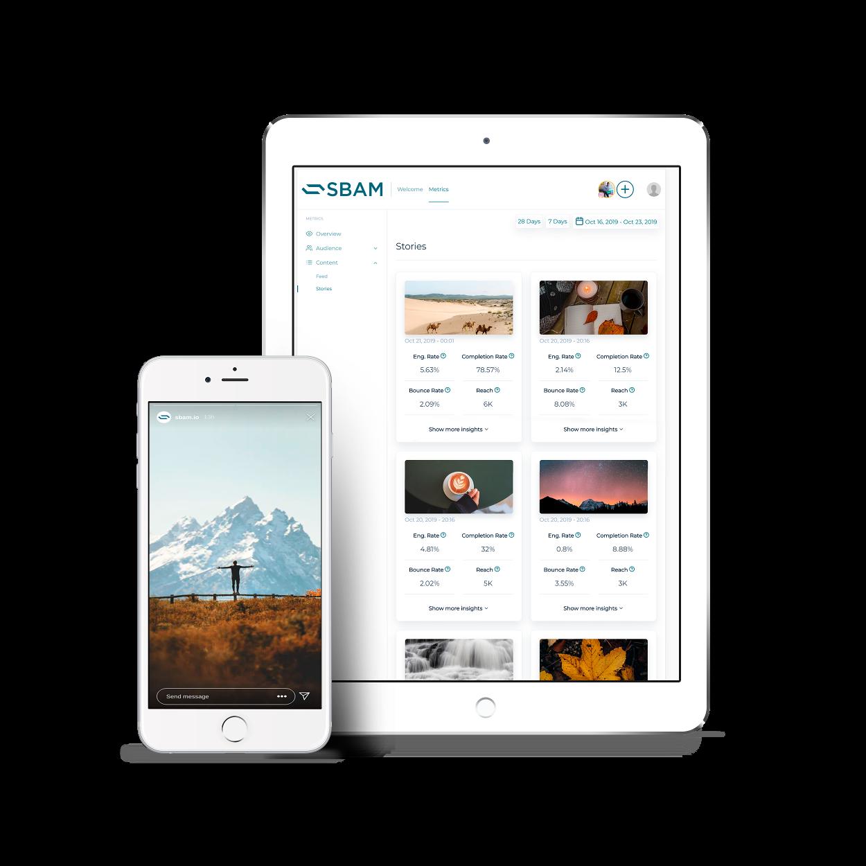 Sbam app ipad iphone