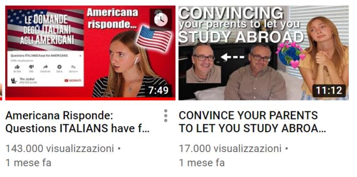 Kenna Burke Americana risponde agli italiani